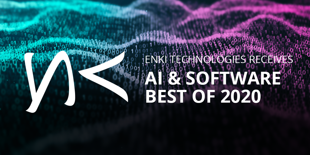 ENKI Technologies Receives AI & Software Best of 2020